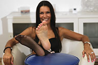 small preview pic number 3 from set 1737 showing Allyoucanfeet model Cassandra