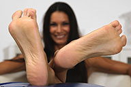 small preview pic number 5 from set 1737 showing Allyoucanfeet model Cassandra