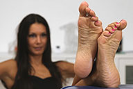 small preview pic number 6 from set 1737 showing Allyoucanfeet model Cassandra