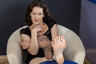 small preview pic number 4 from set 1738 showing Allyoucanfeet model Julie