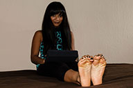 small preview pic number 4 from set 1787 showing Allyoucanfeet model Phanni