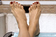 small preview pic number 3 from set 1798 showing Allyoucanfeet model Valerie