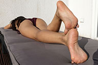 small preview pic number 2 from set 1807 showing Allyoucanfeet model Dani