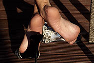 small preview pic number 2 from set 1808 showing Allyoucanfeet model Dani