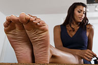 small preview pic number 3 from set 1814 showing Allyoucanfeet model Ciara
