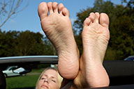 small preview pic number 6 from set 1823 showing Allyoucanfeet model Loca