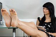 small preview pic number 3 from set 1827 showing Allyoucanfeet model Liliana
