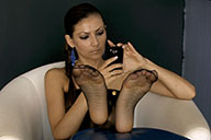 small preview pic number 1 from set 1831 showing Allyoucanfeet model Escada