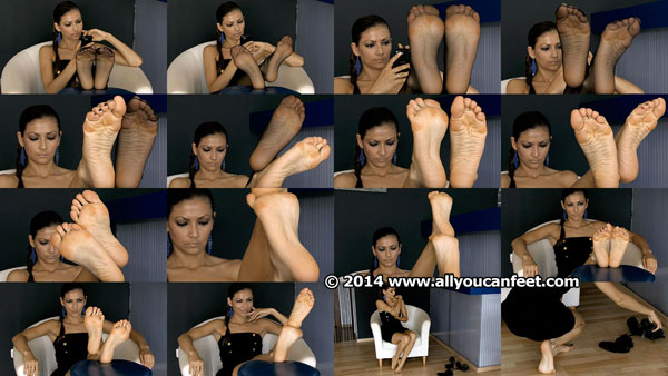 bigger preview pic from set 1831 showing Allyoucanfeet model Escada