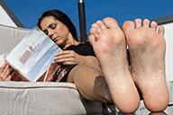 small preview pic number 5 from set 1847 showing Allyoucanfeet model Mel