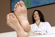 small preview pic number 3 from set 1848 showing Allyoucanfeet model Julie