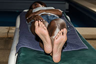 small preview pic number 3 from set 1857 showing Allyoucanfeet model Maxine