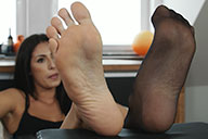 small preview pic number 3 from set 1886 showing Allyoucanfeet model Ricci