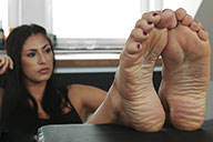 small preview pic number 4 from set 1886 showing Allyoucanfeet model Ricci