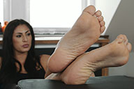 small preview pic number 5 from set 1886 showing Allyoucanfeet model Ricci