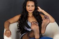 small preview pic number 3 from set 1903 showing Allyoucanfeet model Phanni