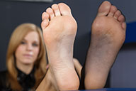 small preview pic number 3 from set 1919 showing Allyoucanfeet model Romy