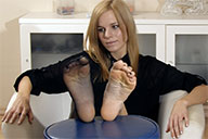 small preview pic number 3 from set 1920 showing Allyoucanfeet model Romy