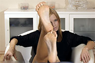small preview pic number 6 from set 1920 showing Allyoucanfeet model Romy