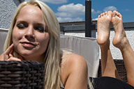 small preview pic number 1 from set 1922 showing Allyoucanfeet model Serena