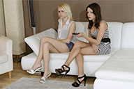 small preview pic number 1 from set 1923 showing Allyoucanfeet model Zari & Loca