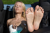 small preview pic number 3 from set 1936 showing Allyoucanfeet model Loca