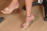small preview pic number 1 from set 194 showing Allyoucanfeet model Karine