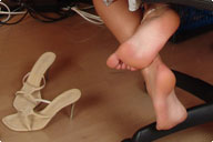 small preview pic number 5 from set 194 showing Allyoucanfeet model Karine