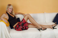 small preview pic number 1 from set 195 showing Allyoucanfeet model Venetia
