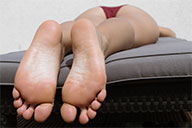 small preview pic number 1 from set 1950 showing Allyoucanfeet model Jolina