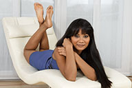 small preview pic number 3 from set 2009 showing Allyoucanfeet model Phanni