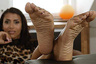 small preview pic number 4 from set 2025 showing Allyoucanfeet model Ciara