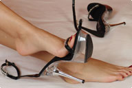 small preview pic number 1 from set 204 showing Allyoucanfeet model Escada