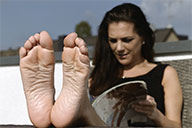 small preview pic number 5 from set 2044 showing Allyoucanfeet model Mel