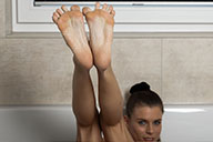 small preview pic number 2 from set 2052 showing Allyoucanfeet model Aleksa