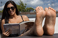 small preview pic number 4 from set 2068 showing Allyoucanfeet model Ricci