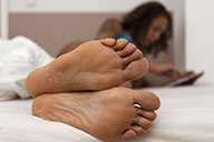 small preview pic number 6 from set 2077 showing Allyoucanfeet model Yazzi