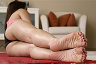 small preview pic number 2 from set 2084 showing Allyoucanfeet model Steffi