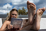 small preview pic number 5 from set 2087 showing Allyoucanfeet model Isa