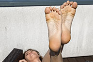 small preview pic number 6 from set 2096 showing Allyoucanfeet model Mary