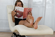 small preview pic number 2 from set 2102 showing Allyoucanfeet model Romy