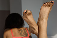 small preview pic number 4 from set 2103 showing Allyoucanfeet model Monika