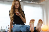 small preview pic number 1 from set 2105 showing Allyoucanfeet model Vivi