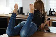 small preview pic number 5 from set 2105 showing Allyoucanfeet model Vivi