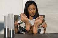 small preview pic number 5 from set 2117 showing Allyoucanfeet model Dani