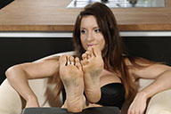 small preview pic number 3 from set 2123 showing Allyoucanfeet model Katrin