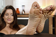 small preview pic number 5 from set 2123 showing Allyoucanfeet model Katrin