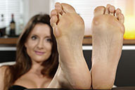 small preview pic number 6 from set 2123 showing Allyoucanfeet model Katrin