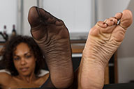 small preview pic number 4 from set 2125 showing Allyoucanfeet model Mara