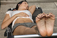 small preview pic number 4 from set 2126 showing Allyoucanfeet model Liliana